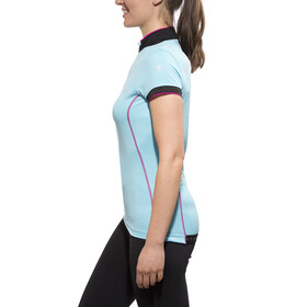 axant Elite Short Sleeve Jersey Women blue/pink